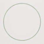 Cercle chromatique n°2, parcours H du cercle chromatique en 24 couleurs, crayons de couleur sur papier marouflé sur dibond, 107,1 x 97,1 cm, 2015