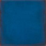 Monochrome n°10: sens H., du turquoise au bleu primaire, huile sur toile marouflée sur panneau, 45,5 x 45,5 cm, 2014