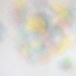Modulation chromatique n°12, cercle chromatique en 24 couleurs, crayons de couleur sur papier, 98 x 118 cm, 2016